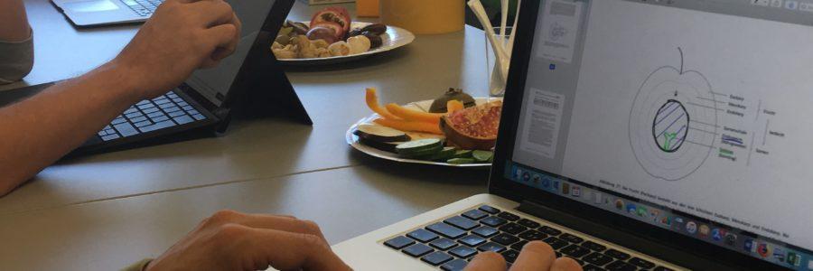 Laptop BMS Natur Landschaft Lebensmittel